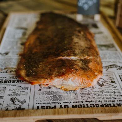 Imagen de producto de salmón BBQ de Dame la Brasa