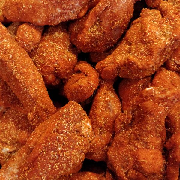 Imagen de alitas de pollo adobadas