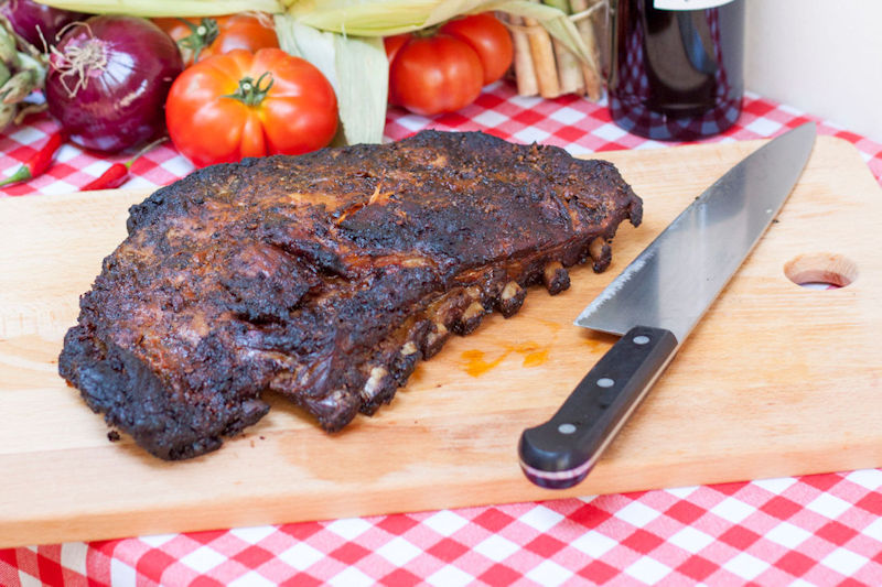 Costillas BBQ (de cerdo)